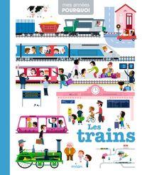 Couverture «Les trains»