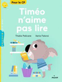 Couverture «Timéo n'aime pas lire»