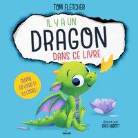 Couverture «Il y a un dragon dans ce livre»