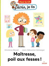 Cover of «Maîtresse, poil aux fesses !»