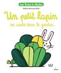 Couverture «Un petit lapin se cache dans le jardin»
