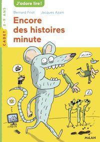 Couverture «Encore des histoires minute – NE»