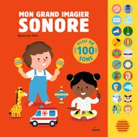 Cover of « Mon grand imagier sonore »