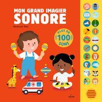 Cover of «Mon grand imagier sonore»