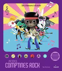 Couverture «Petites comptines rock»