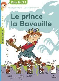 Couverture «Le prince la Bavouille»