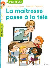 Couverture «La maîtresse passe à la télé»