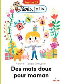 Couverture «Des mots doux pour maman»