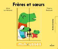 Cover of «Les Minousses – Frères et sœurs»
