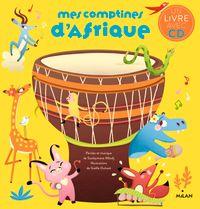 Couverture «Mes comptines d'Afrique + CD NE»