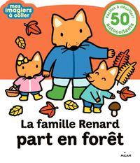 Couverture «La famille Renard part en forêt»