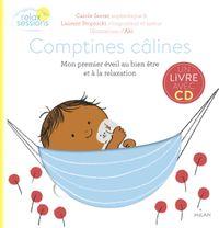 Couverture «Comptines câlines – Mon premier éveil bien-être et relaxation +CD»