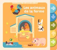 Couverture «Les animaux de la ferme»