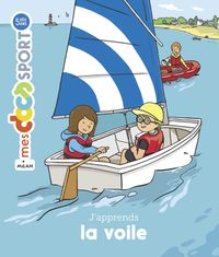 Couverture « J'apprends la voile »
