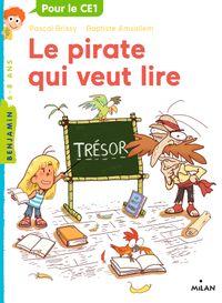 Couverture «Le pirate qui veut lire»