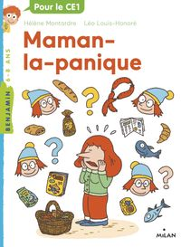 Cover of « Maman la panique »