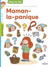 Couverture «Maman la panique»