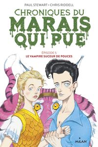 Couverture « Le vampire suceur de pouces »