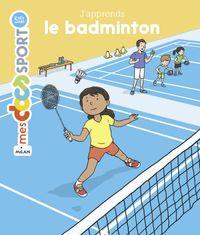Couverture «J'apprends le badminton»