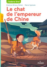 Couverture « Le chat de l'empereur de Chine »