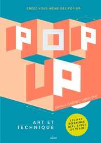 Couverture « Pop-up, art et technique »