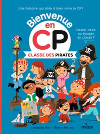 Couverture « Classe des Pirates »