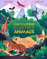 Couverture «L'encyclopédie illustrée des animaux»