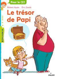 Couverture «Le trésor de Papi»