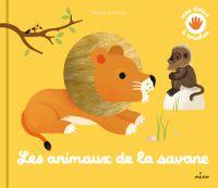 Cover of «Les animaux de la savane»