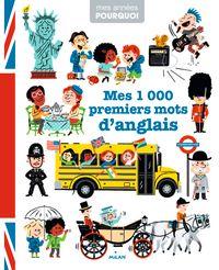 Couverture «Mes 1 000 premiers mots d'anglais»