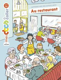 Couverture « Au restaurant »