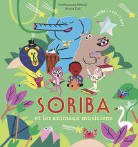 Couverture «Soriba et les animaux musiciens»