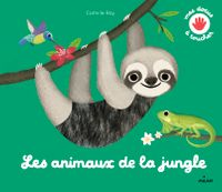 Cover of «Touch and Explore – Jungle Animals»
