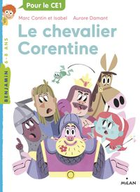 Cover of « Le chevalier Corentine »
