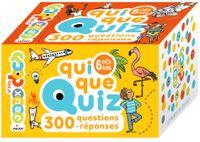Couverture «QuiQueQuiz – 300 questions-réponses»