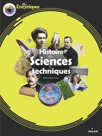 Couverture «Histoire des sciences et techniques»