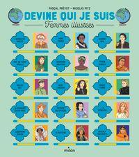 Couverture «Devine qui je suis – Femmes illustres»