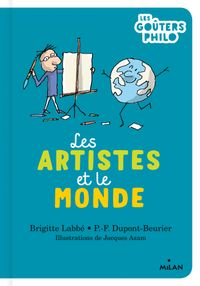 Couverture «Les artistes et le monde»