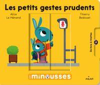 Cover of «Les Minousses – Les petits gestes prudents»