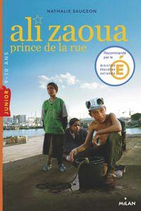 Couverture «Ali Zaoua, prince de la rue»