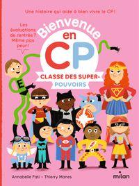 Couverture «Classe des super-pouvoirs»