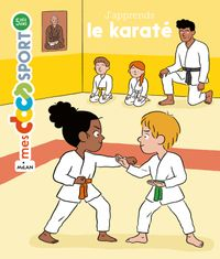 Couverture « J'apprends le karaté »