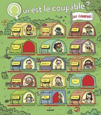 Cover of «Qui est le coupable au camping?»