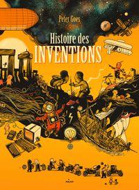 Couverture «Histoire des inventions»