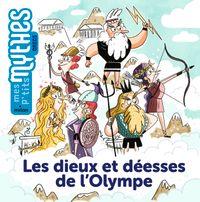 Couverture «Les dieux et déesses de l'Olympe»