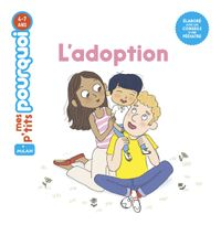Couverture « L'adoption »
