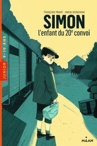Couverture «Simon, l'enfant du 20e convoi»