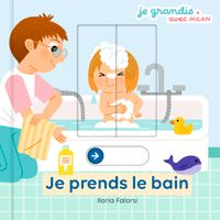Cover of « Je prends le bain »