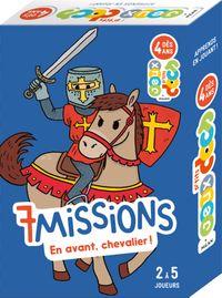 Couverture «7missions – En avant, chevaliers!»