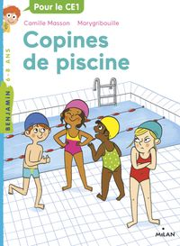 Couverture « Copines de piscine »